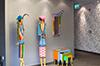 Der Eingangsbereich unseres Hotels: Moderne Kunst und hochwertige Materialien sorgen für einen echten Hingucker!